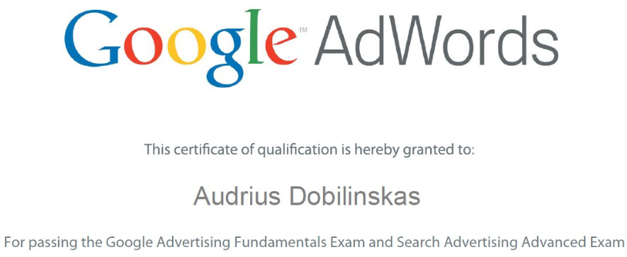 AdWords Certification - Why you should use Google AdWords?